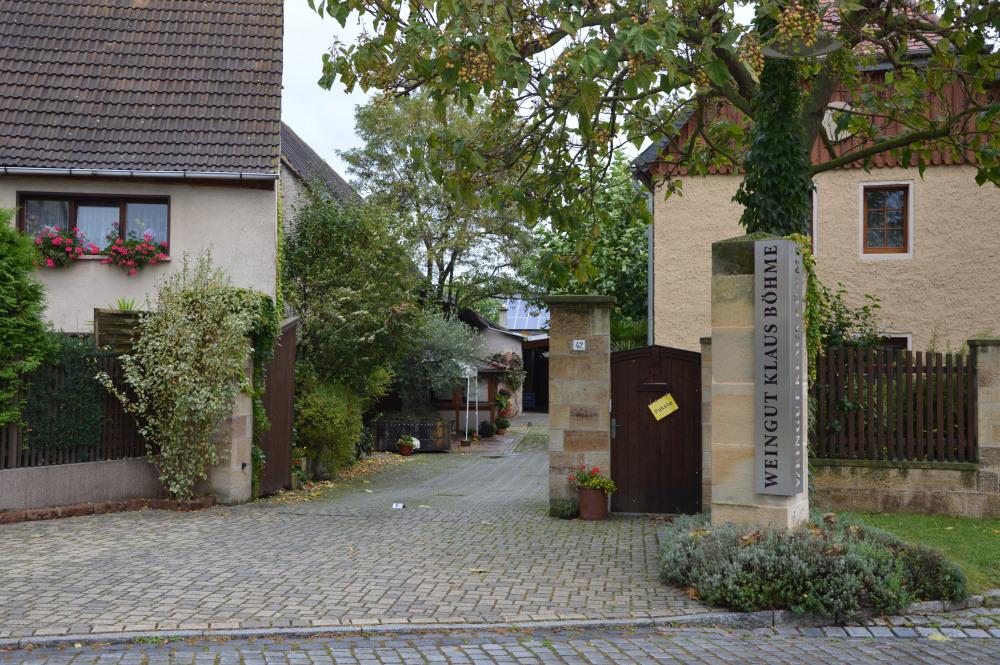 Weingut Klaus Böhme Wein kaufen Berlin Saale Unstrut