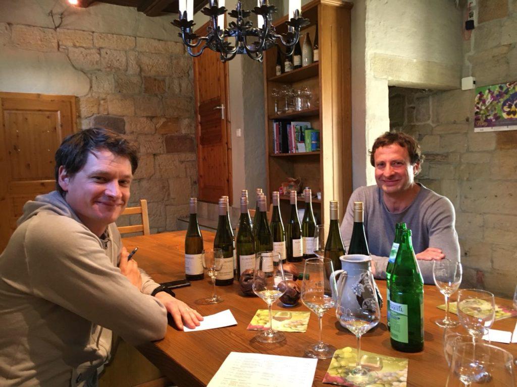 Weinprobe 2017 Klaus Böhme Saale Unstrut Weine